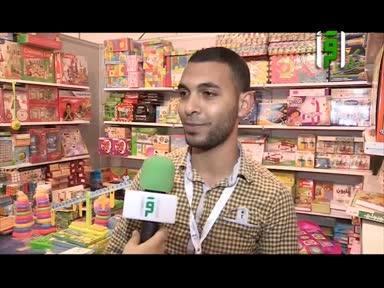 تقارير من ارض السعودية - جناح الطفل في معرض الكتاب