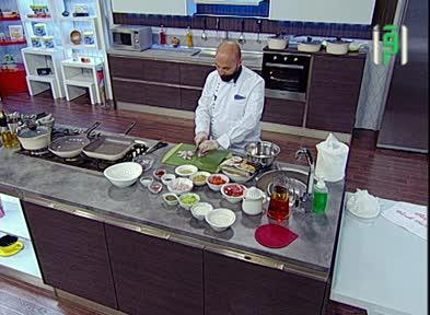 مطبخك - الحلقة7  -مطبق اللحم بالعجين  - الشيف شادي زيتوني