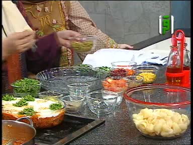 مطبخك 2005- ح 20- فتة المكدوس - سلطة روسية - منال خجا