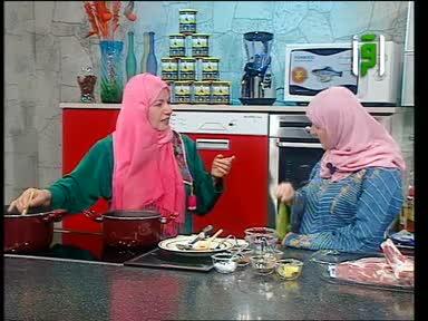 مطبخك 2005 - ح 25 - فخذة بالفرن - خضار سوتيه - أرز - منال خجا