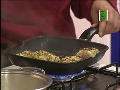 مطبخك 2011 - ح 28 - سمك بصوص الليمون - شوربة الشوفان بالبصل - سلطة الجمبري