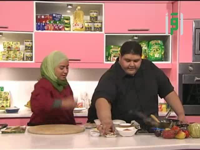 مطبخك 2011 - ح29 - لزانيا سيفود - سلطة مكسيكية - مهلبية - شوربة جمبري