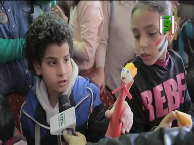 تقارير بلاد الكنانة - ورش فنون الاطفال