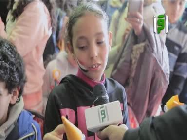 تقارير بلاد كنانة - معرض القاهرة الدولي للكتاب - ورش فنون الطفل