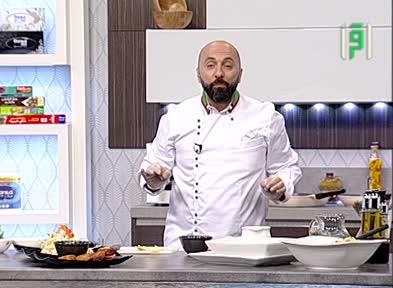 مطبخك - الحلقة 24 - اقراص كفتة الدجاج المقلية مو سلطة  الكوسلو وصلصة الكوكتيل - الشيف شادي زيتوني