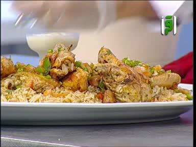 مطبخك -حلاوة الأرز بالمستكة وزهر الليمون  - الشيف شادي زيتوني