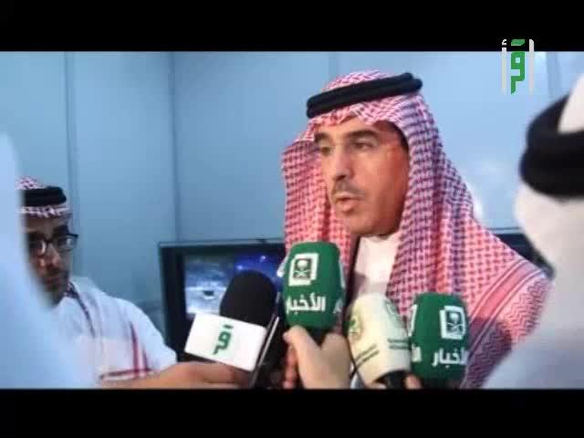 وزير الثقافة والإعلام يقوم بجولة تفقدية لمقري الوزارة في عرفات ومنى