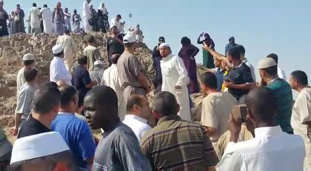 جبل أحد وذكريات المعركة تصوير محمد جويعد