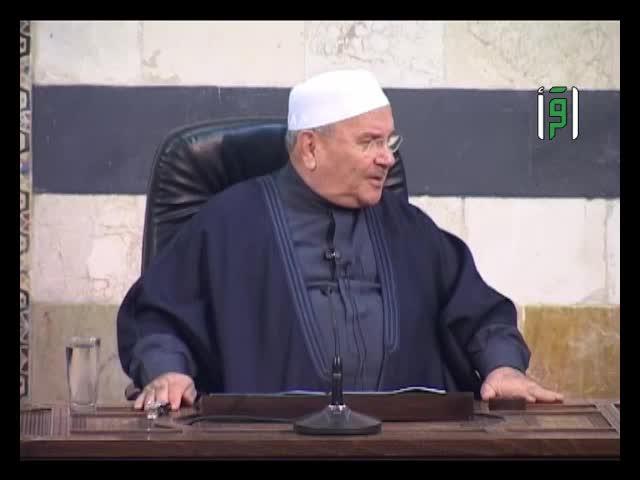 كيف يعيش المؤمن الصادق مع النبي  في يومه - الدكتور محمد راتب النابلسي