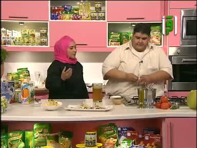 مطبخك 2011 - ح 7 - شورما دجاج - سلطة بمعكرونة الصدف - تورتة الشوكلاتة مع الكريما - شوربة الفاصوليا - سمية الإدريسي - فايز