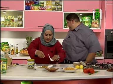 مطبخك 2011 - ح 27 - جمبري مقلي مع الشوفان سباغيتي صوص الطماطم مع الذرة - فول مصري - كريم كراميل