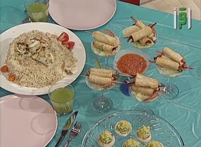 مطبخك -الحلقة 11- العدس والأرز مع ثمار البحر - الشيف شادي زيتوني