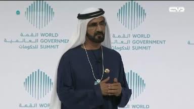 أخبار الإمارات - حوار الشيخ محمد بن راشد في القمة العالمية للحكومات 2017