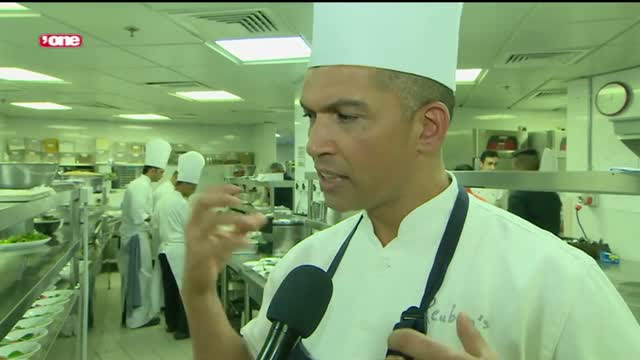 News Reports: Kitchen alchemy on display as world-renowned chefs go head to head
