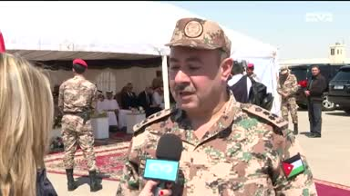 أخبار الإمارات - الإمارات تضع حجر الأساس لمشروع المدينة التدريبية للقوات المسلحة الأردنية
