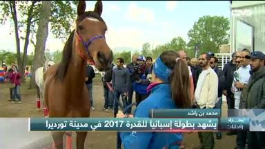أخبار الإمارات - محمد بن راشد يشهد بطولة إسبانيا للقدرة 2017 في مدينة تورديرا