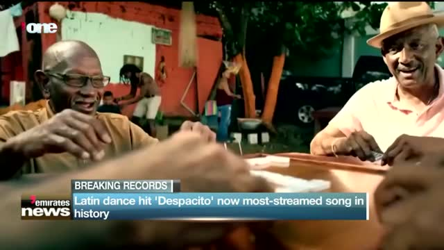 """News Reports: Latin dance hit """"Despacito"""" now most-streamed song in history"""
