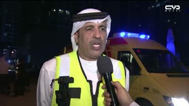 أخبار الإمارات – دبي: السيطرة على حريق شب في برج الشعلة بمنطقة مرسى دبي بوقت قياسي