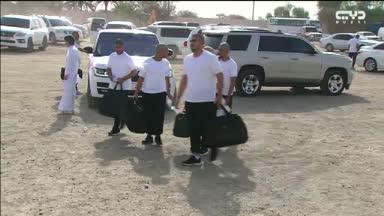أخبار الإمارات - توافد مجندي الدفعة الثامنة إلى أربعة معسكرات على مستوى الدولة