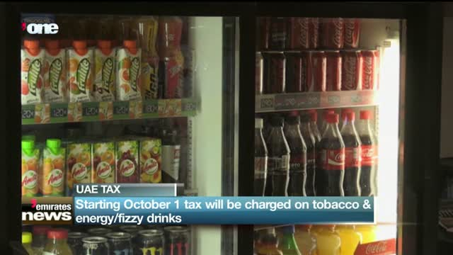 News Reports: Starting October 1 tax will be charged on tobacco & energy/fizzy drinks