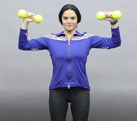 3 تمارين رياضية لشد الصدر