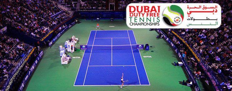 نهائي بطولة دبي للتنس 2012