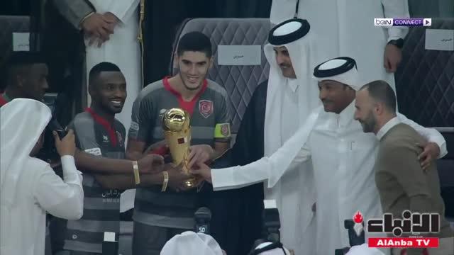 الدحيل يتوج بلقب كأس الأمير على حساب الريان
