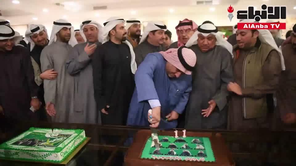 كرنڤال حاشد في حفل العرباوية احتفالا بفوز قائمة أبناء النادي بالانتخابات