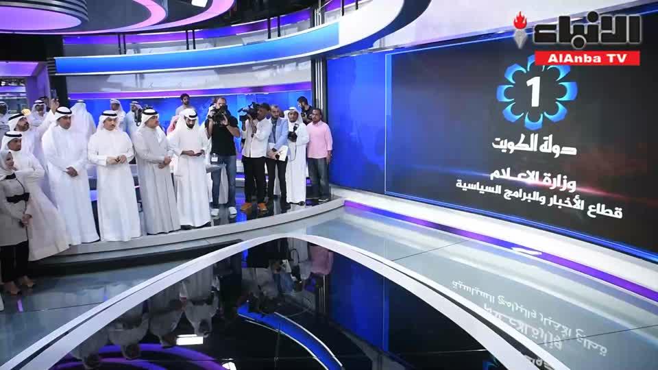 الجبري افتتح استديو الأخبار 300 الجديد في «الإعلام»