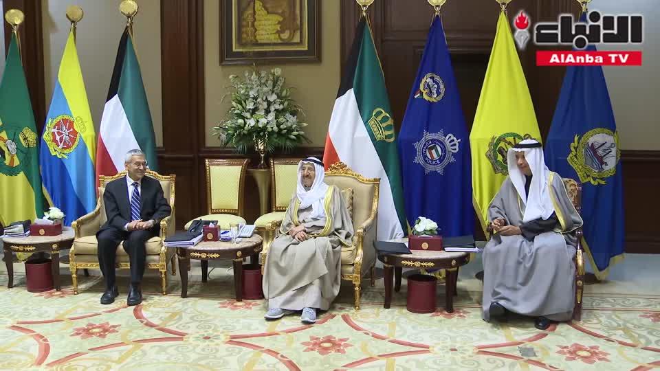 صاحب السمو تلقى رسالة من أمير قطر وترأس اجتماعاً لـ«التقدم العلمي»
