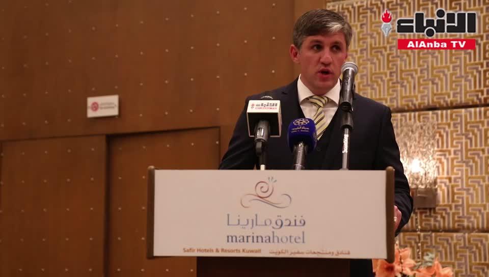 سفارة أوكرانيا لدى الكويت احتفلت بالعيد الوطني