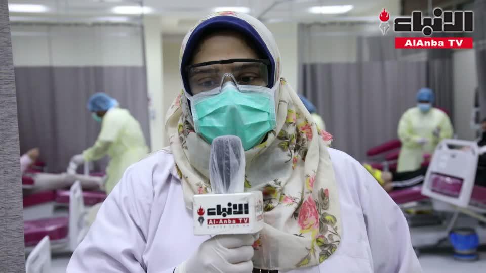 300 متبرع بالدم شاركوا في حملة نادي المصارف للتبرع بالدم لصالح مصابي انفجار بيروت