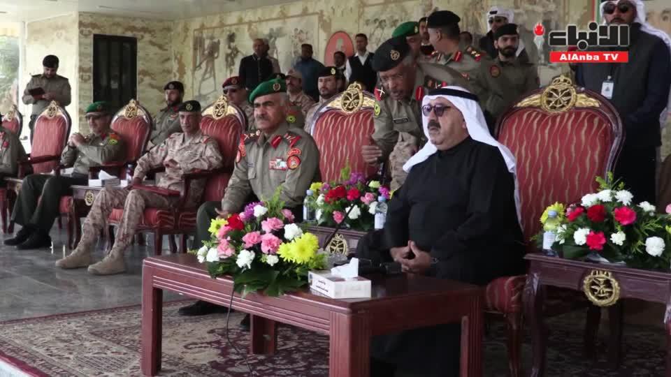 ناصر صباح الأحمد للمجندين: أوصيكم بالإخلاص والتفاني في خدمة الوطن