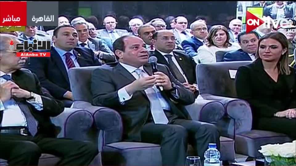 """السيسي رداً على شراء الغاز الإسرائيلي: """"مصر ليست طرفاً"""""""
