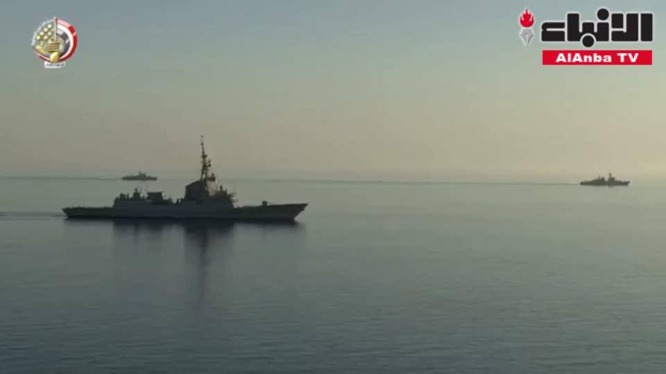 البحرية المصرية والأسبانية تنفذان تدريبا مشتركا بنطاق البحرين المتوسط والأحمر