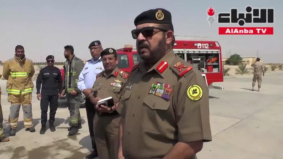 رئيس هيئة الخدمة الوطنية العسكرية اللواء الركن محمد أحمد الخضر زار مركز تدريب الإطفاء