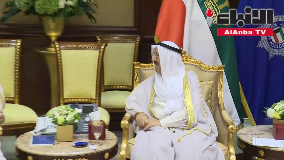 الأمير تسلم أوراق اعتماد 4 سفراء وتلقى تقرير هيئة مكافحة الفساد
