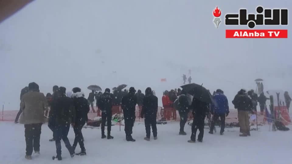 مهرجان الثلج يجذب هواة التزلج إلى إقليم كردستان العراق