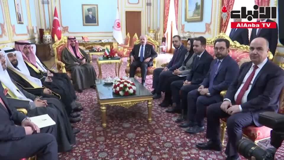 الغانم بحث مع نظيره التركي المستجدات الراهنة على المستويين الإقليمي والدولي وتنسيق المواقف بين البرلمانات الإسلامية