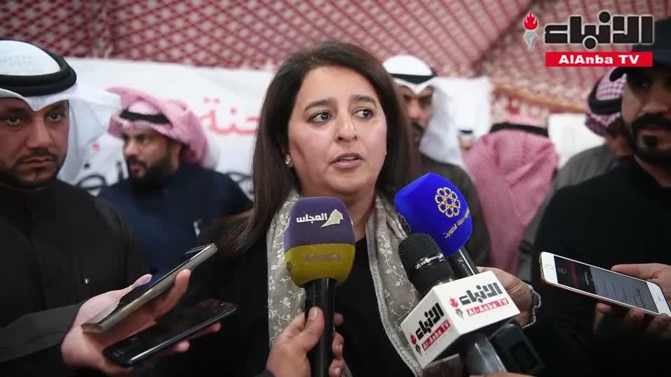 وزيرة الأشغال والإسكان التقت أهالي مدينة المطلاع