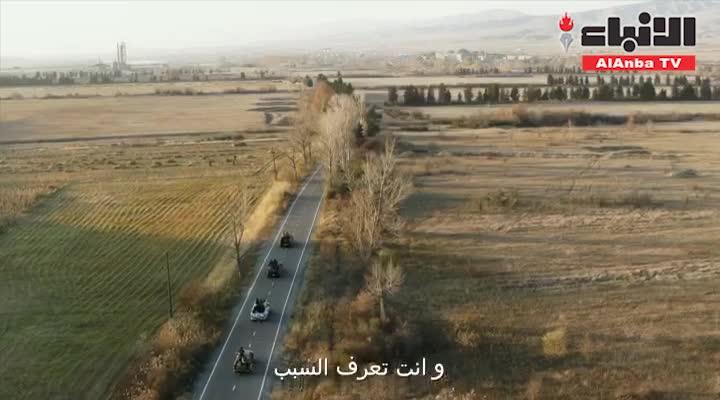 علي كاكولي وليلى عبدالله في برومو مسلسل «رحلة إلى الجحيم»