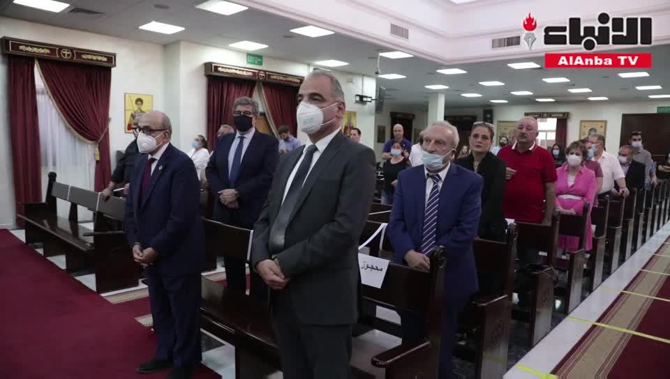 كنيسة الروم الأرثوذكس أقامت قداسا ورفعت الصلاة من أجل أرواح الشهداء في لبنان