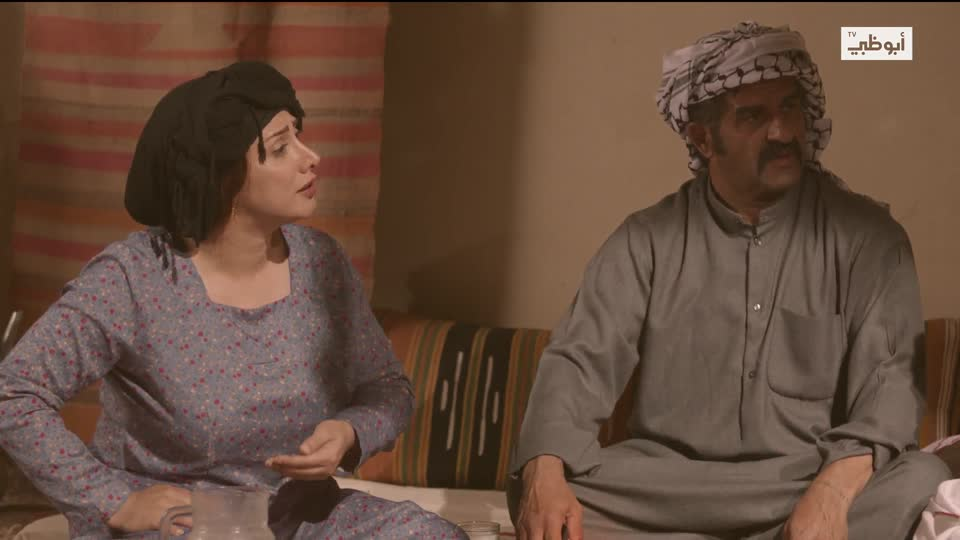 Abu Dhabi Tv كحل أسود قلب أبيض الحلقة 27 الموسم 1