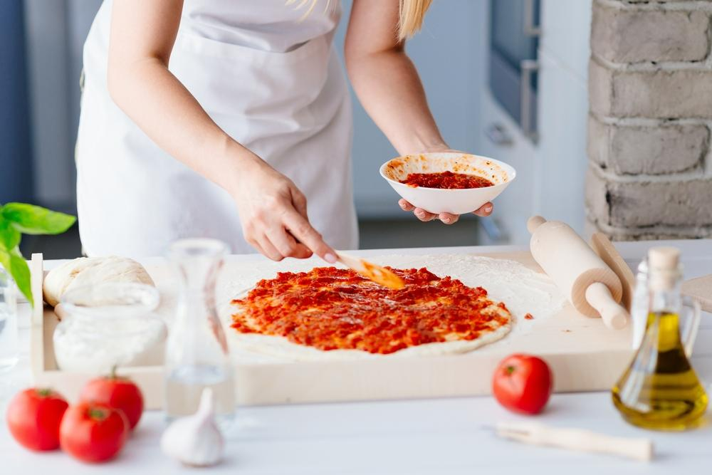 طريقة تحضير فطائر البيتزا بخبز التورتيلا