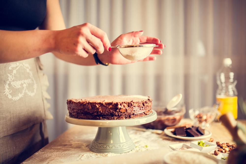 طريقة تحضير كيك شوكولاته سهل وصحي
