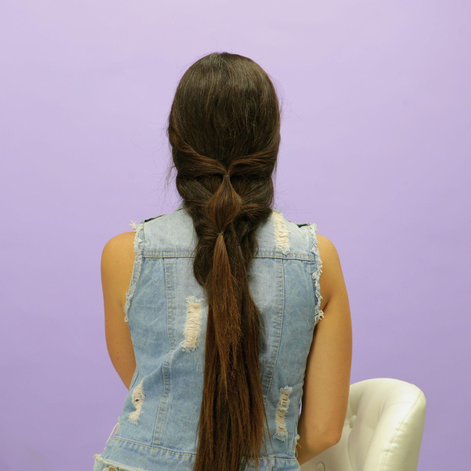 حيلة سريعة لتسريحة شعر يومية
